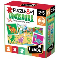 PUZZLE 8+1 DINOSAURS