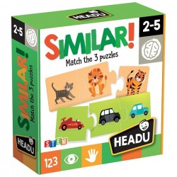 SIMILAR! 2-5 MATCH THE 3 PUZZLES
