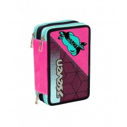 ASTUCCIO 3 ZIP - REBEL GIRL